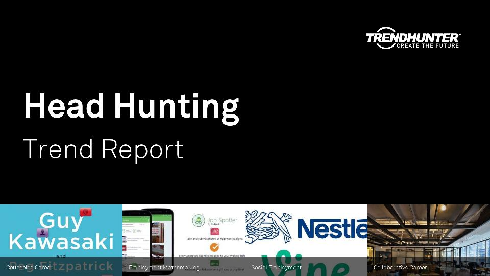 Head Hunting Trend Report Research