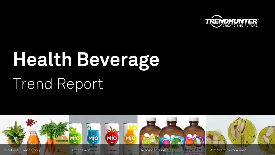 Health Beverage Trend Report Research
