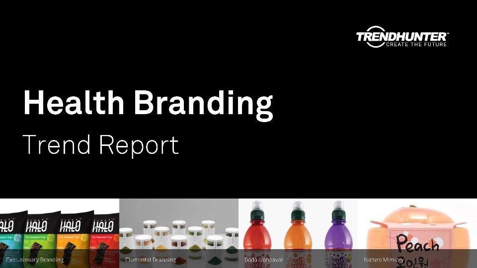 Health Branding Trend Report Research