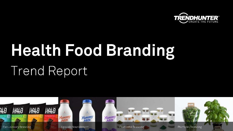 Health Food Branding Trend Report Research