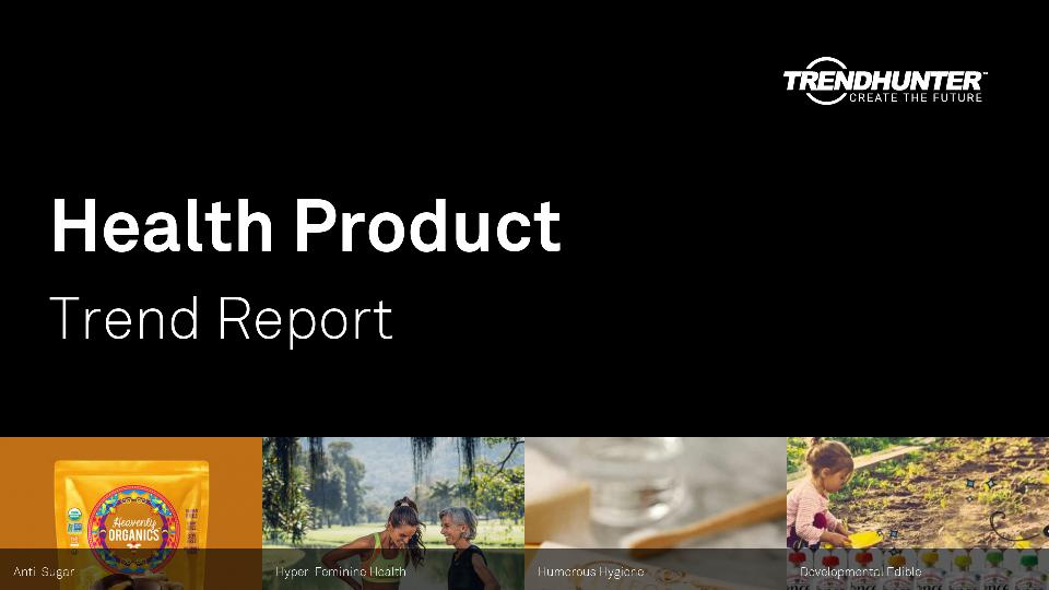 Health Product Trend Report Research