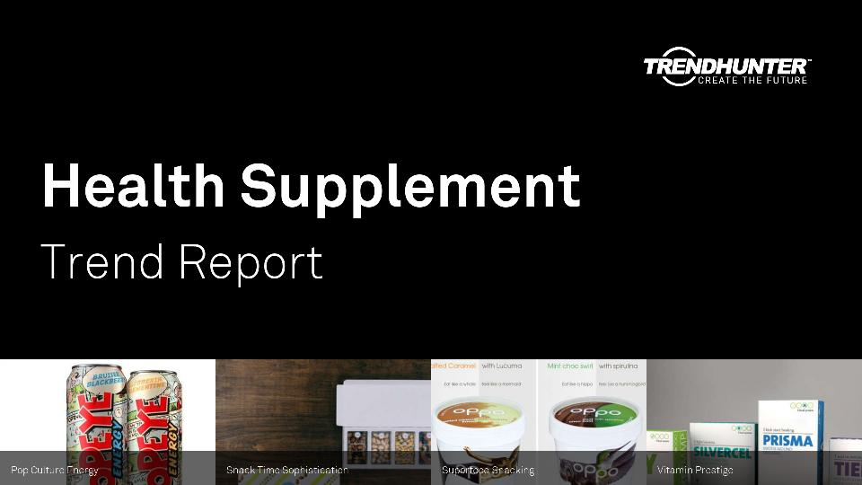 Health Supplement Trend Report Research