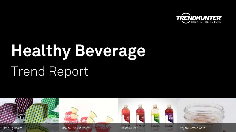 Healthy Beverage Trend Report Research