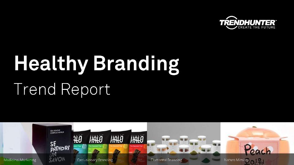 Healthy Branding Trend Report Research