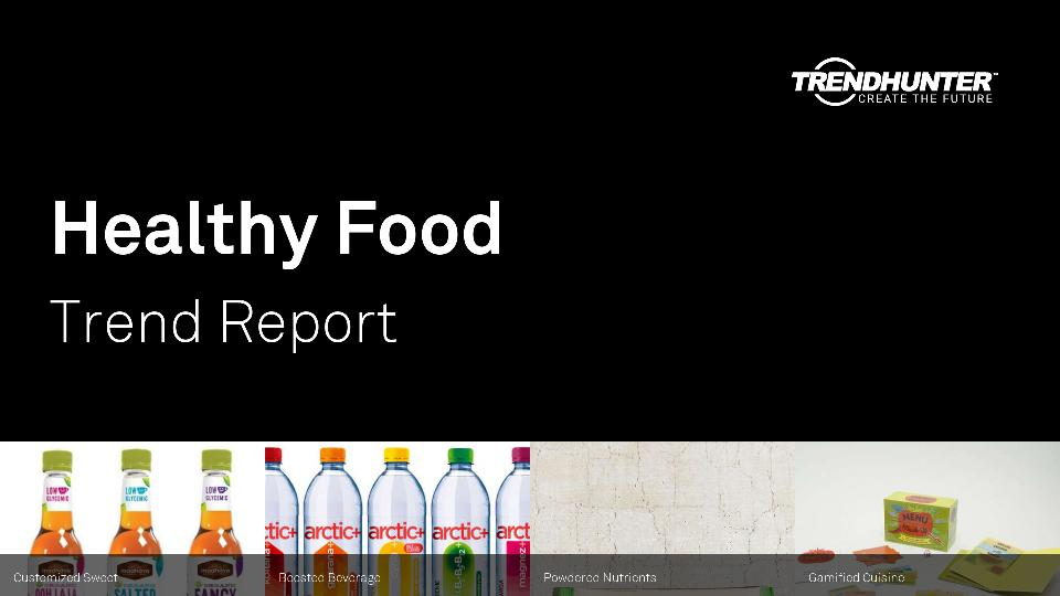 Healthy Food Trend Report Research
