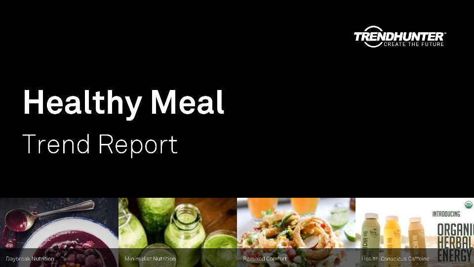 Healthy Meal Trend Report Research
