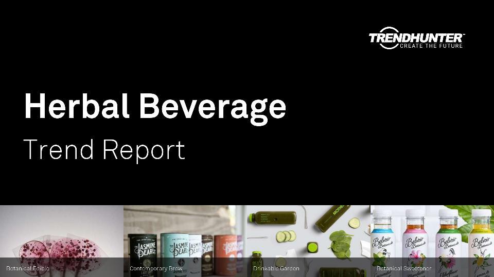 Herbal Beverage Trend Report Research