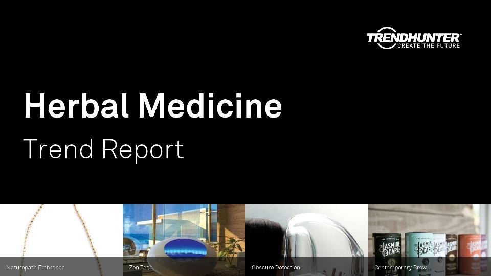 Herbal Medicine Trend Report Research