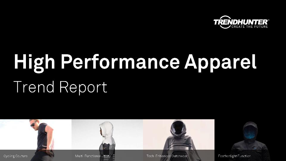 High Performance Apparel Trend Report Research