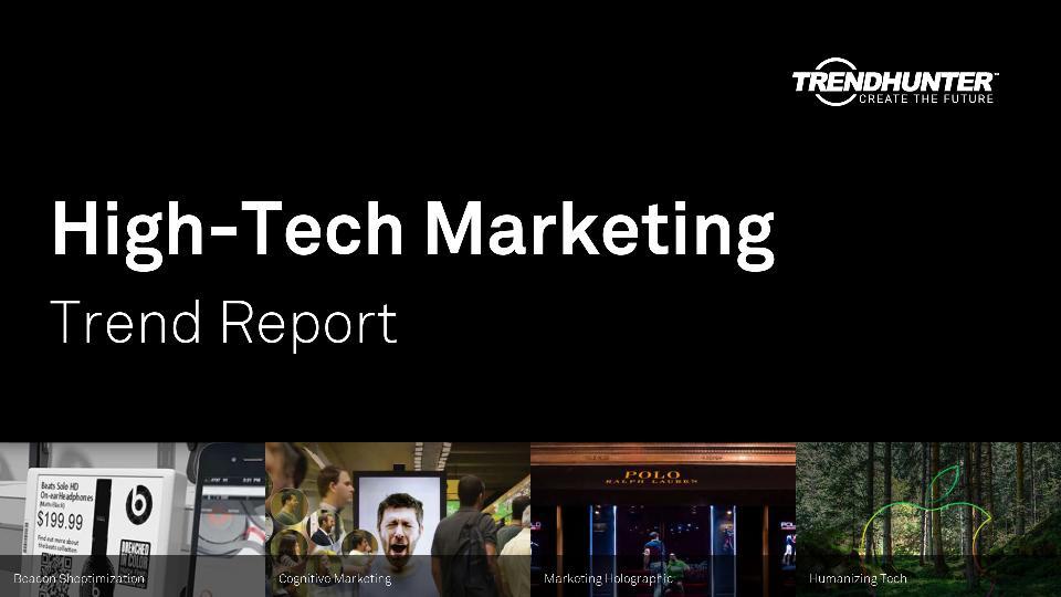High-Tech Marketing Trend Report Research