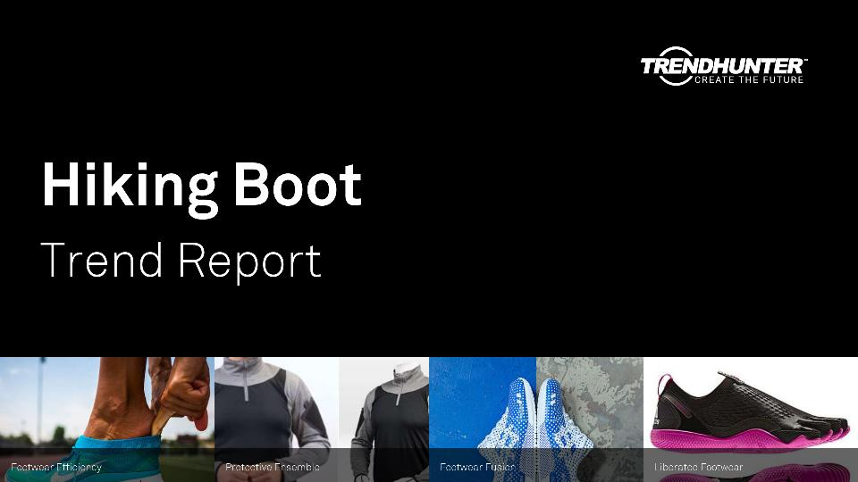 Hiking Boot Trend Report Research