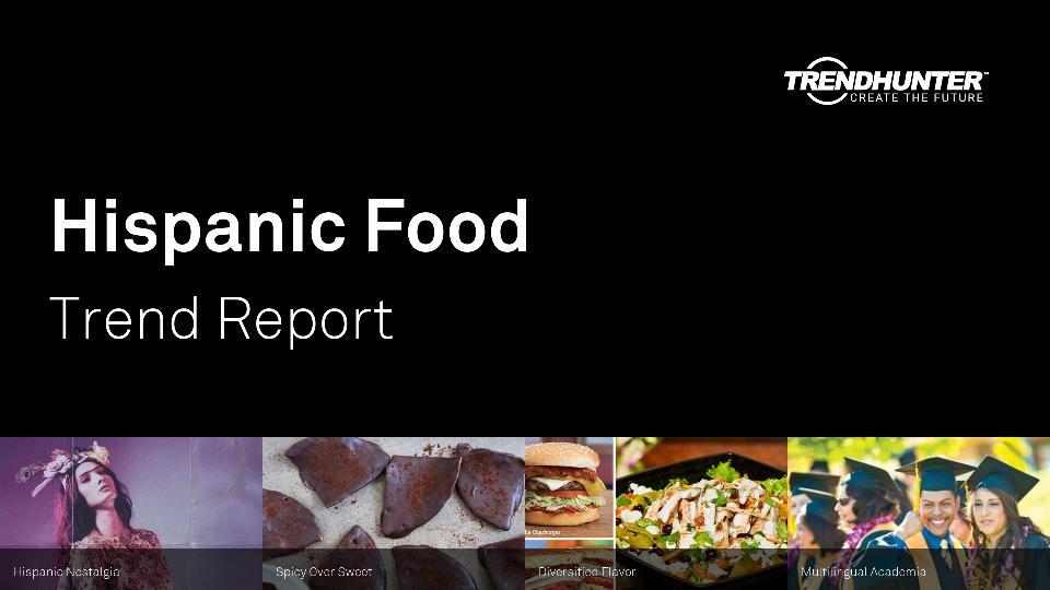 Hispanic Food Trend Report Research
