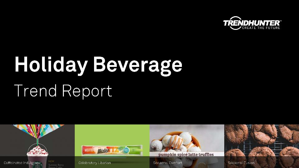 Holiday Beverage Trend Report Research