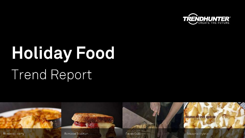 Holiday Food Trend Report Research