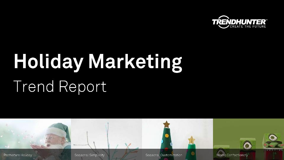Holiday Marketing Trend Report Research