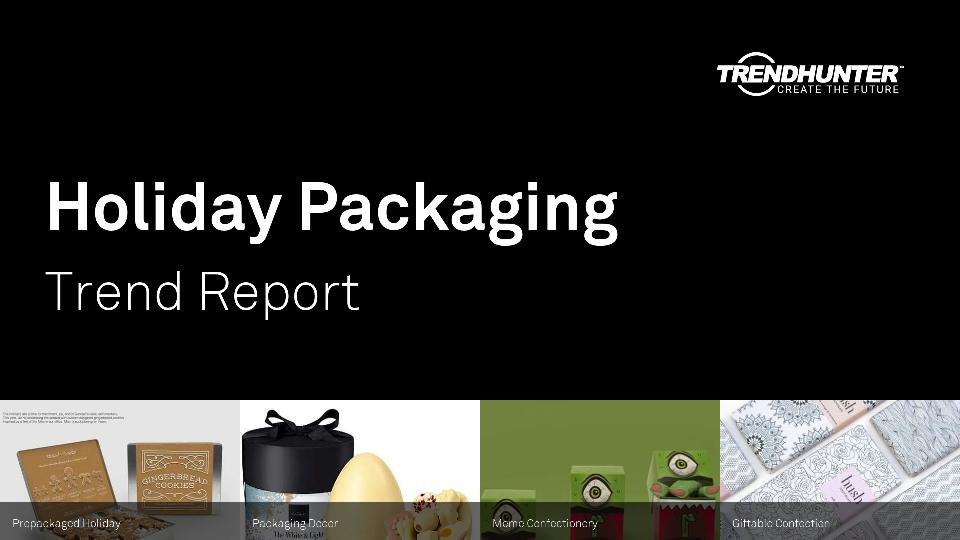 Holiday Packaging Trend Report Research