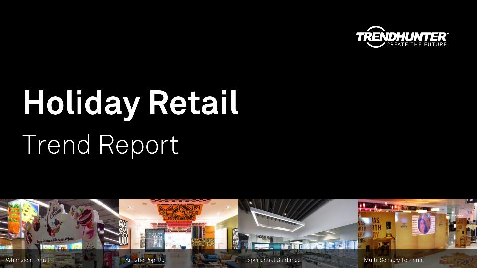 Holiday Retail Trend Report Research