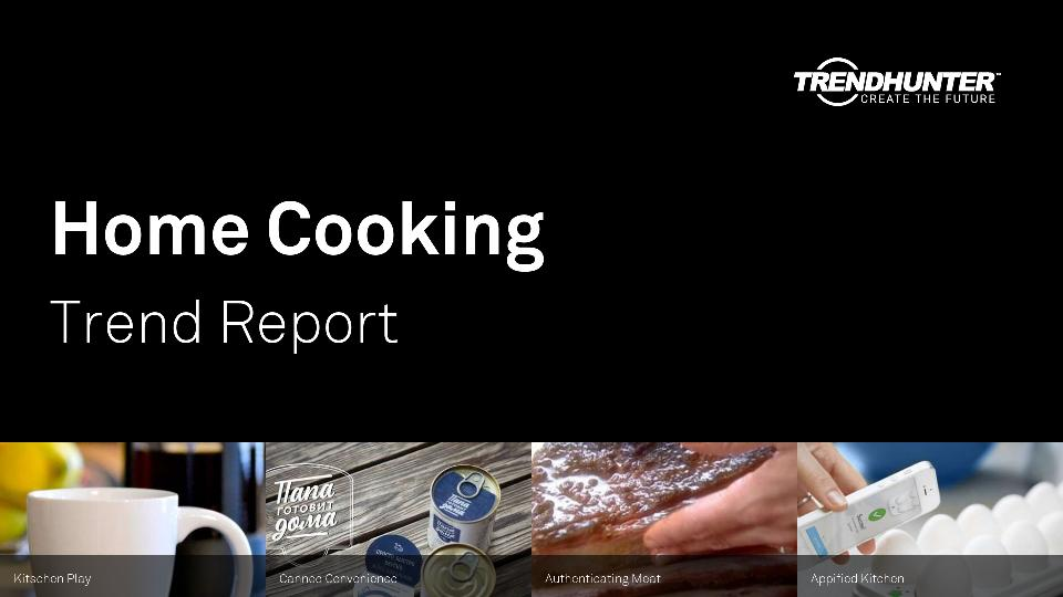 Home Cooking Trend Report Research