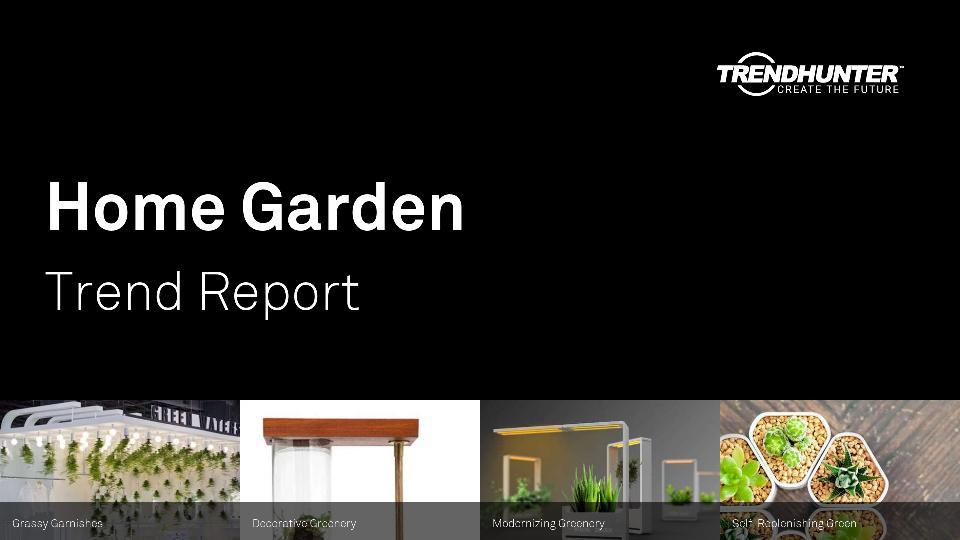 Home Garden Trend Report Research