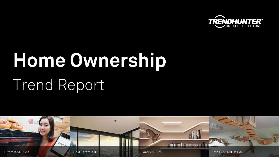 Home Ownership Trend Report Research