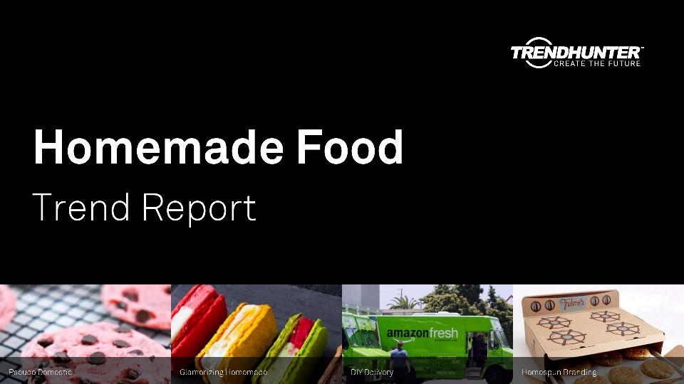 Homemade Food Trend Report Research
