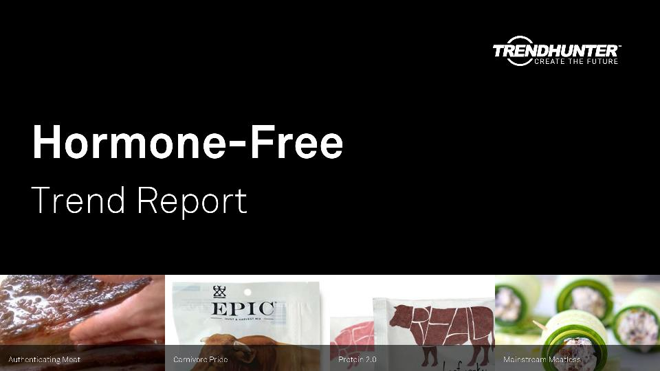 Hormone-Free Trend Report Research
