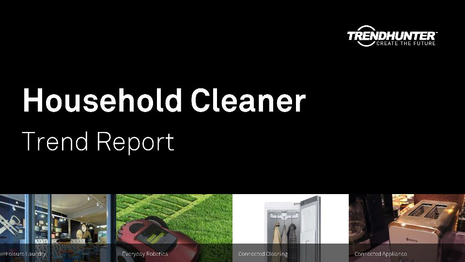 Household Cleaner Trend Report Research