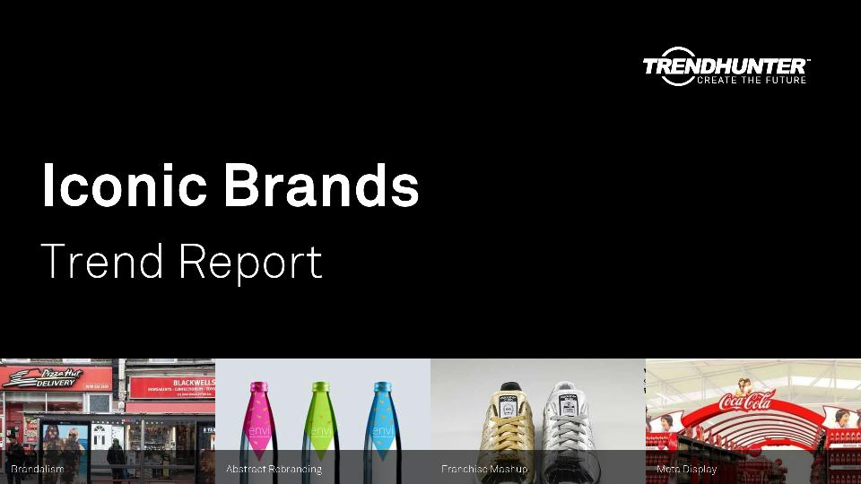 Iconic Brands Trend Report Research