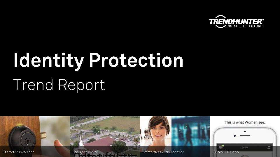Identity Protection Trend Report Research