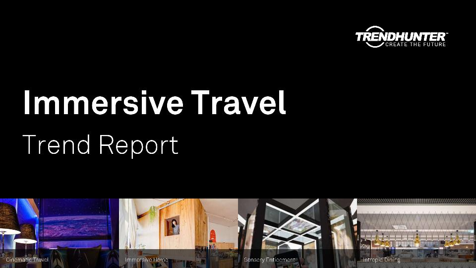 Immersive Travel Trend Report Research