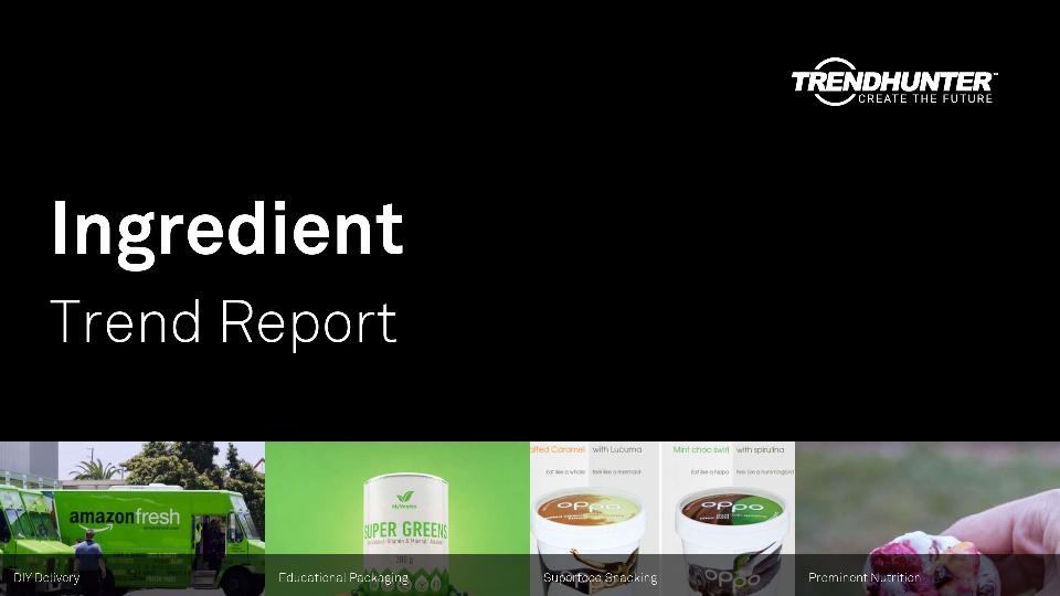 Ingredient Trend Report Research