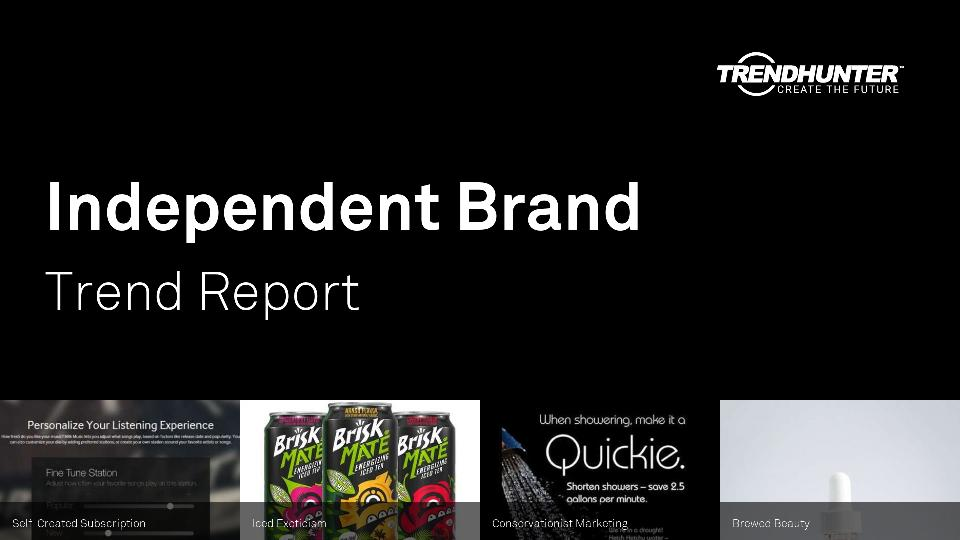 Independent Brand Trend Report Research