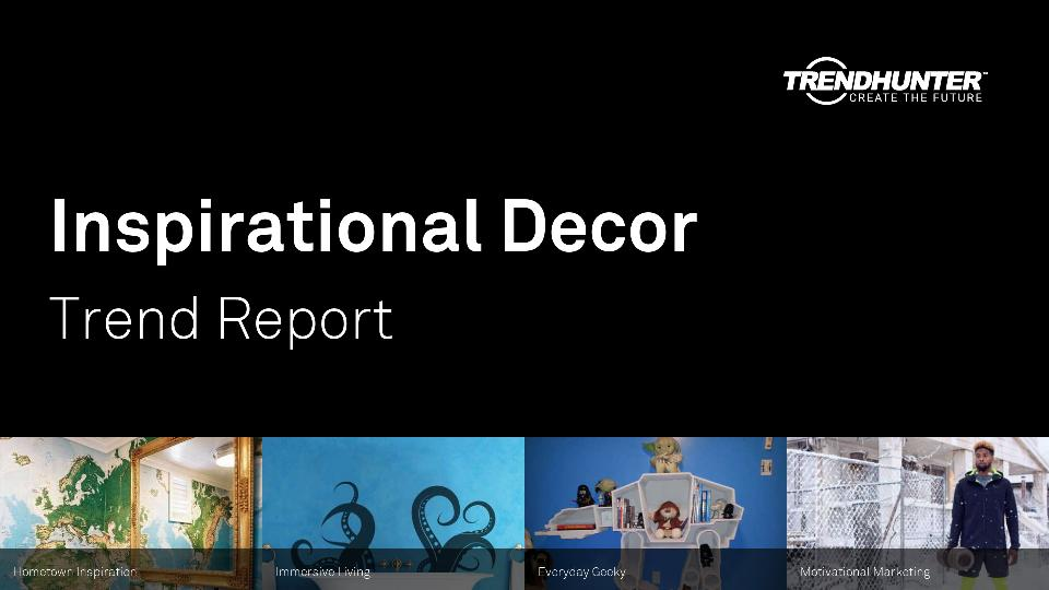 Inspirational Decor Trend Report Research