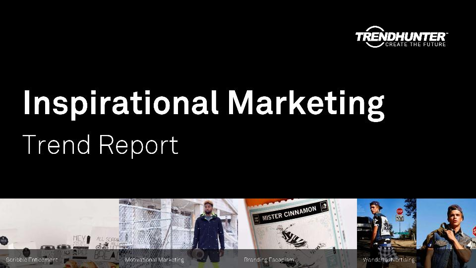 Inspirational Marketing Trend Report Research