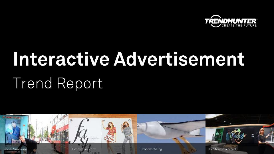 Interactive Advertisement Trend Report Research