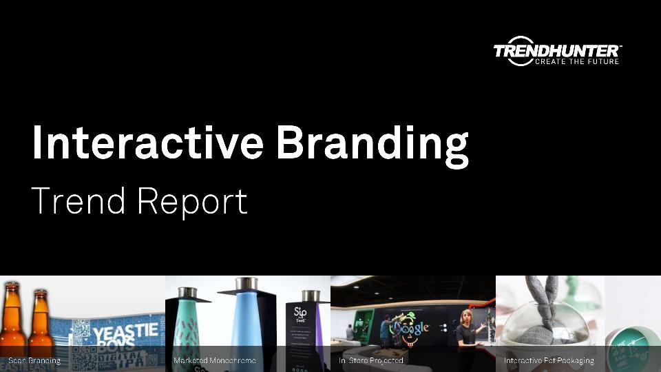 Interactive Branding Trend Report Research