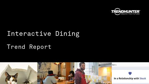 Interactive Dining Trend Report and Interactive Dining Market Research