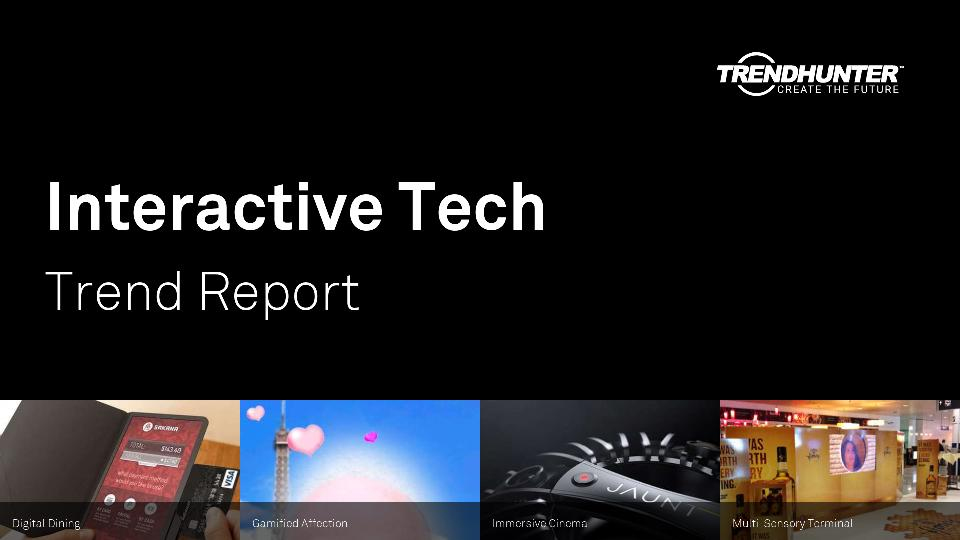 Interactive Tech Trend Report Research