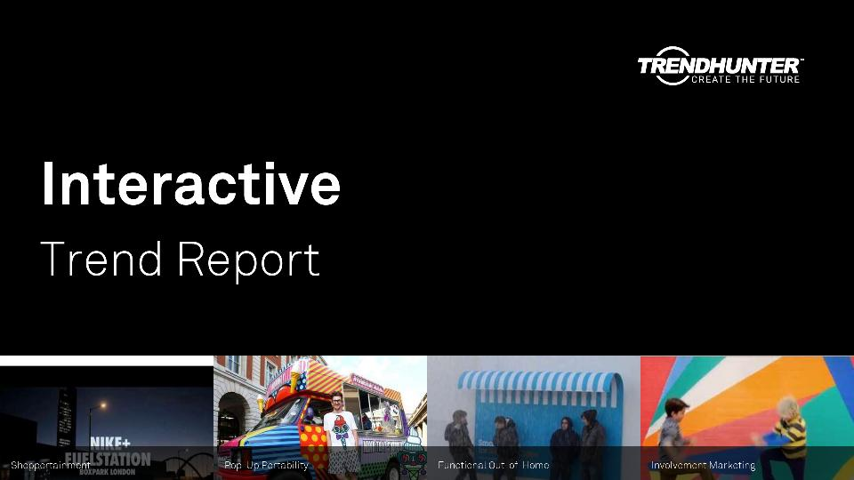 Interactive Trend Report Research