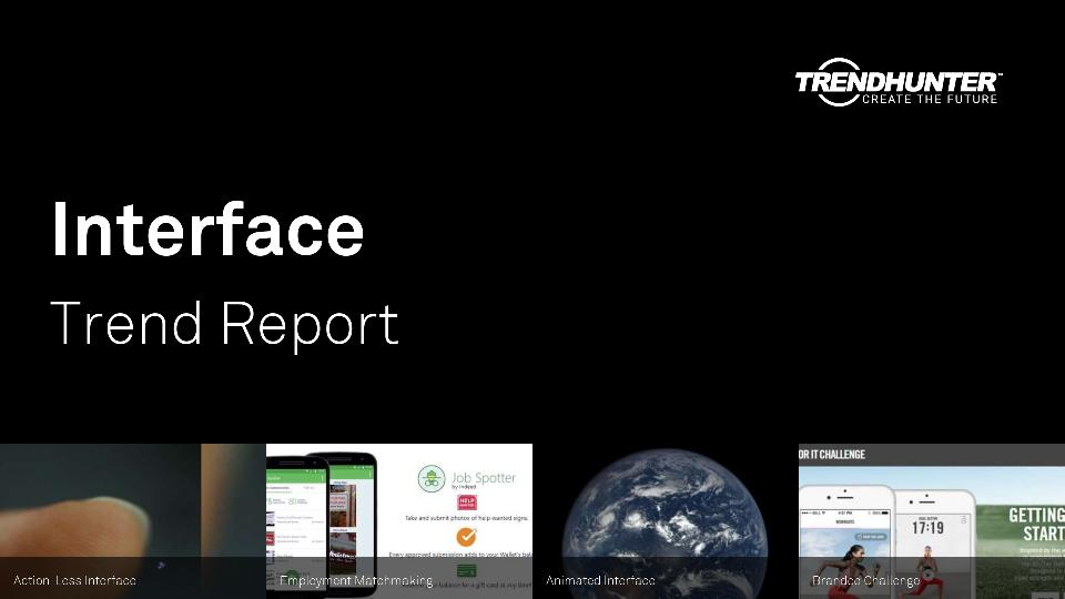 Interface Trend Report Research