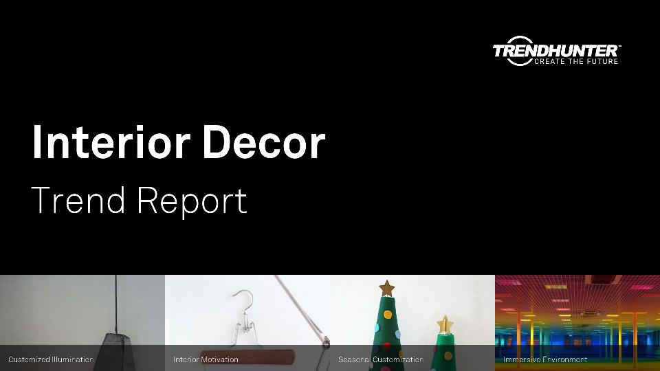 Interior Decor Trend Report Research
