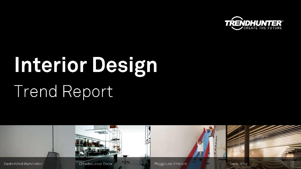 Interior Design Trend Report Research