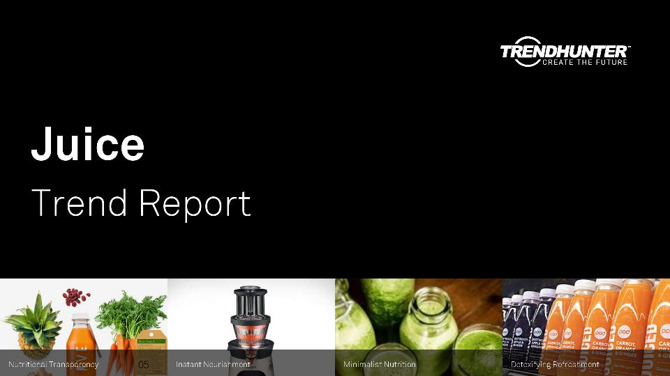 Juice Trend Report Research