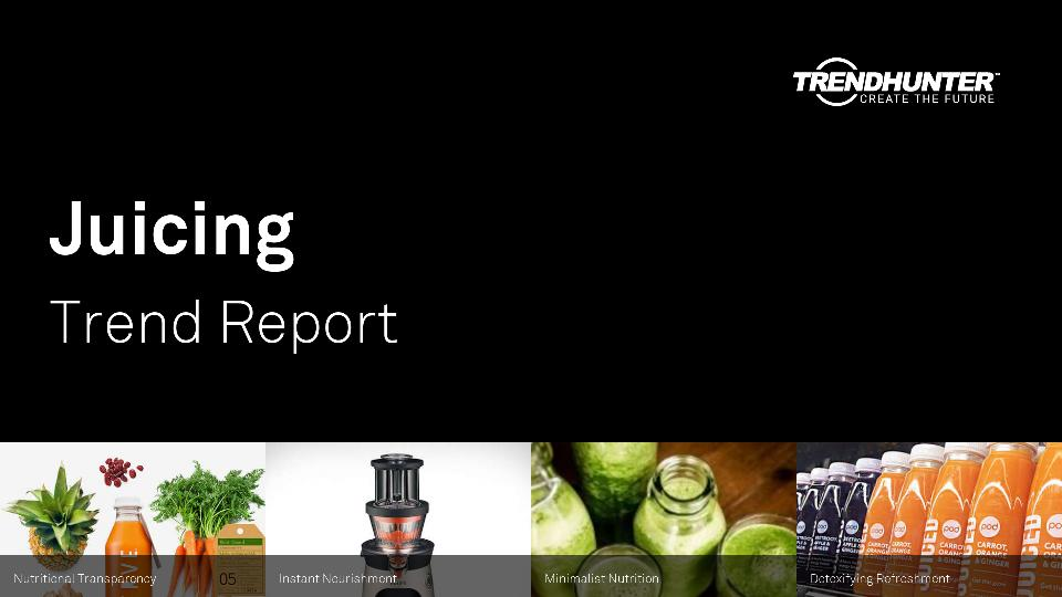Juicing Trend Report Research