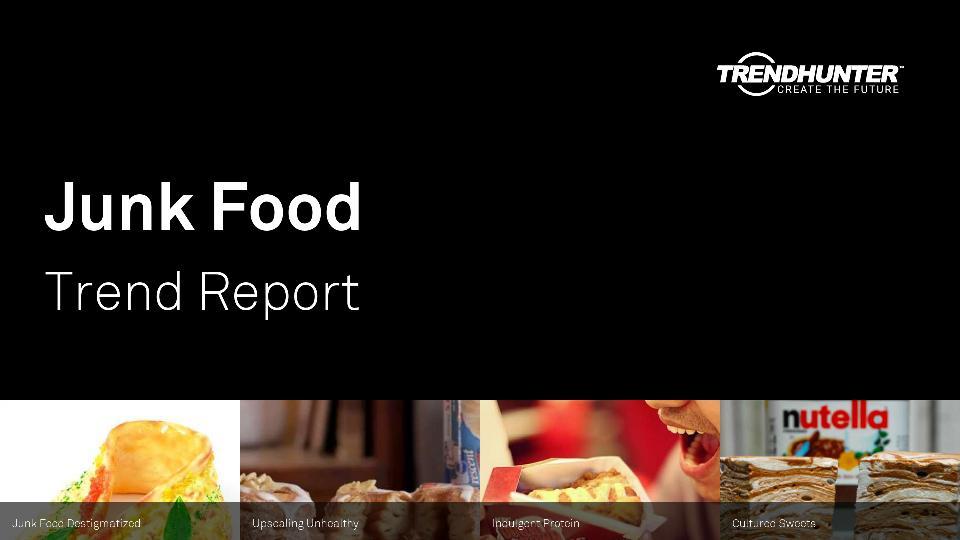 Junk Food Trend Report Research