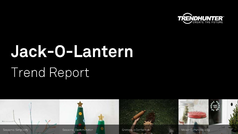 Jack-O-Lantern Trend Report Research