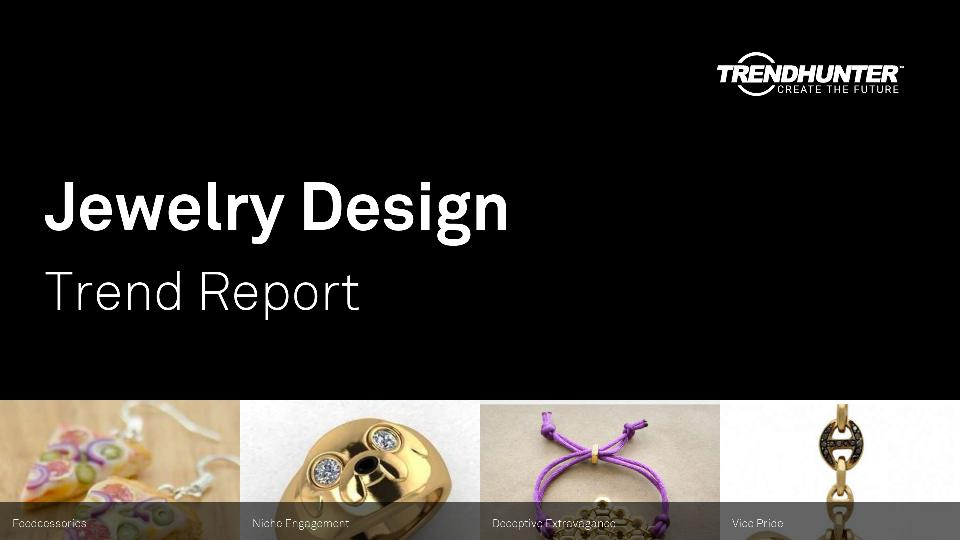 Jewelry Design Trend Report Research