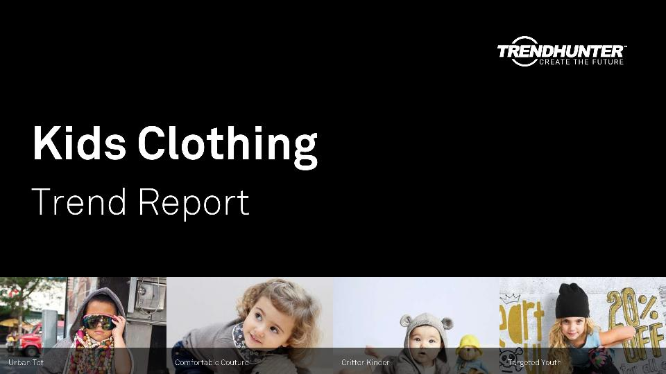 Kids Clothing Trend Report Research