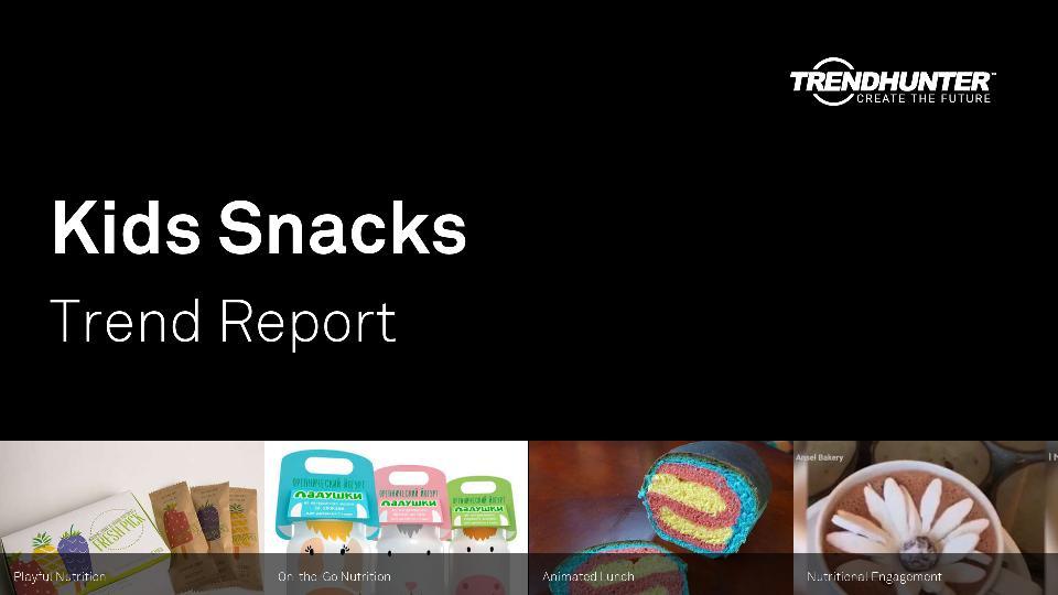 Kids Snacks Trend Report Research