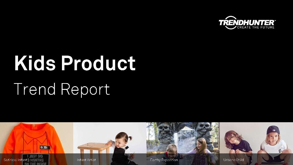 Kids Product Trend Report Research
